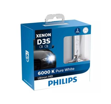 42403WXX2 | Philips 42403WXX2 Ultinon HID 氙氣燈泡 (D3S)