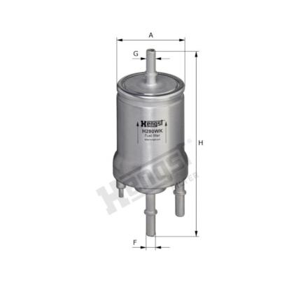 H280WK | Hengst H280WK 燃油隔