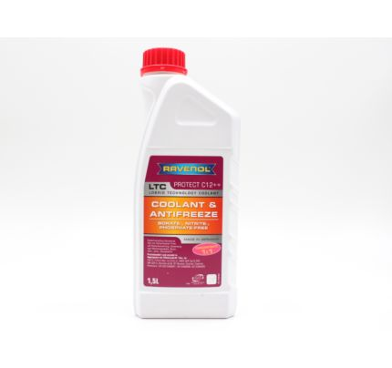 RAVENOL LTC G12++ 冷卻液 1.5 公升